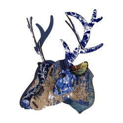 Eco deer heads miho unexpected shop - Applique murale tete de cerf ...