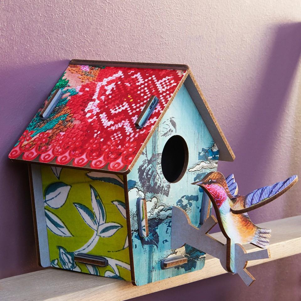 Casette e uccellini